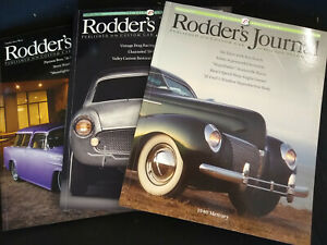 Rodders Journal lot of 3 2014 Issues