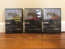 Traditional Kung Fu Trio (3) Dvd Set tong bei quan whip-stick 8 Immortals sword