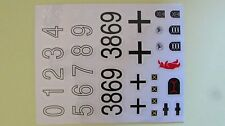 Heng Long decal sheet (stickers) for Panther G and Jagdpanther Taigen 1:16