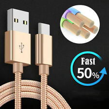 6FT USB Type C Data Sync Charger Charging Cable Samsung Galaxy S9 Plus Note 8 A+