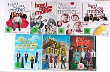 DVD Paket: HOW I MET YOUR MOTHER 1-7 (1 + 2 + 3 + 4 + 5 + 6 + 7) Komplett