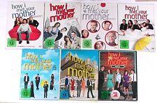 DVD Paket: HOW I MET YOUR MOTHER 1-7 (1 + 2 + 3 + 4 + 5 + 6 + 7) Komplett