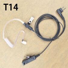 Earpiece Headset For Motorola Cp200 Cp200D Pr400 Gp300 Portable Radio