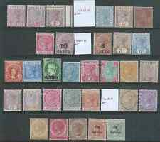 COMMONWEALTH VICTORIA FINE MINT HINGED MNH WHERE STATED COLLECTION HIGH CAT!