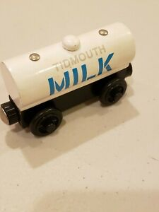 Thomas Train LC Wooden Railway Tidmouth Milk Car 1999