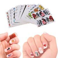 48Pcs Water Transfer Decals Manicure Decor Halloween Design Nail Art Stickers