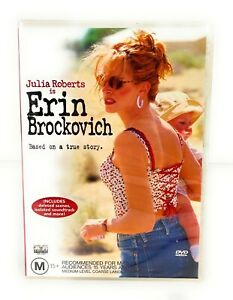 Erin Brockovich (DVD, 2000) Julia Roberts New & Sealed Region 4 Free Postage