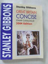Stanley Gibbons Gran Bretaña Conciso Catálogo De Sellos 2004, Muy Buen Estado