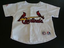 ALBERT PUJOLS St. Louis CARDINALS Baseball 18M Infant MAJESTIC Sewn MLB Jersey