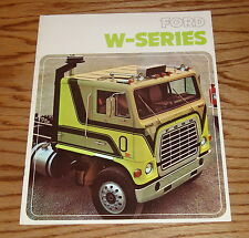 Original 1975 Ford W-Series Truck Sales Brochure 75