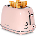 REDMOND 2 Slice Toaster Retro Stainless Steel Toaster with Bagel Cancel Defrost photo