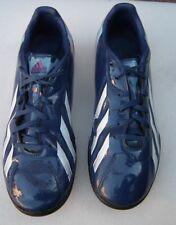 ADIDAS F10 TRX F50 Dark Blue/Vivid Pink/White Lace up Football Shoes Size UK 7