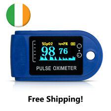Pulse Oximeter Monitor for Finger & Pulse. Digital oxygen meter Ireland