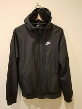 Nike Sportswear Windbreaker Hooded Jacket - BLACK SIZE M