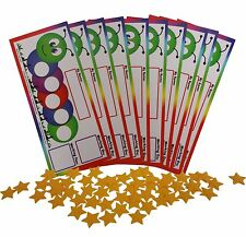New Classroom Pack of 10 I Can Do It! Token reward board, incentive autism chart