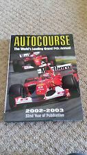 Autocourse 2002 / 03 - Excellent Condition - FREE P&P
