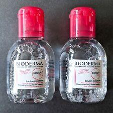 LOT/2 BIODERMA Sensibio H2O MICELLAR Sensitive | 2x Mini 3.33oz/100ml | EXP09/21
