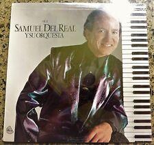 """""""STILL SEALED"""" VINYL LP by SAMUEL DEL REAL """"Y SU ORQUESTA"""" / SDR-22 / 1987"""