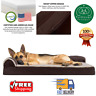 Pet Dog Bed Sofa-Style Orthopedic Removable Cover For Dogs Memory Foam L-Chaise