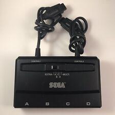 Sega Genesis Multitap Multi Player Tap Four Model No MK 1647 Pre Owned