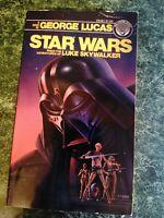 1976 First Edition Star Wars From the Adv of Luke Skywalker Paperback Novel Book