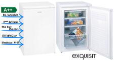 exquisit GS 12-4.3 A++ Gefrierschrank Tiefkühlschrank 84 Liter Weiß Standgerät