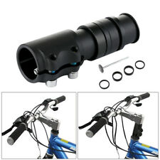 Bicycle Fork Stem Extender Bike Handlebar Riser Head Up Adapter Adjustable