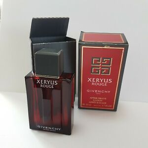GIVENCHY XERYUS ROUGE AFTERSHAVE LOTION 50ml Splash ( NEW & BOXED ) Old Version*