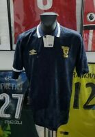 Maillot jersey shirt camiseta ecosse scotland 1991 1994 91 94 umbro vintage L