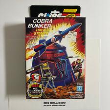 New listing Hasbro G.I.Joe Arah 1985 Cobra Bunker Battle Station Mib Sealed Contents