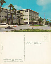 1960's NASA HQ BUILDING FLORIDA UNITED STATES UNUSED COLOUR POSTCARD
