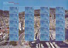 Gs-071 MonacoPhil International Exhibition Generic Smilers Stamp Sheet