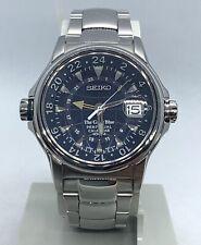 Reloj Seiko GMT Perpetúal Calendario The Great Blue Ref 8F56-0130 A Reparar
