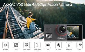 Akaso V50 Elite 4K/30fps 20MP WiFi Action Camera Ultra HD 30m Waterproof Camera