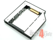 HP EliteBook 8460p 8470p HDD Caddy Carrier Adapter 2. second SSD SATA repl. DVD