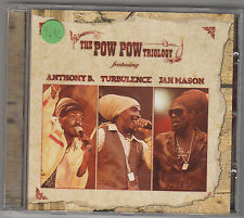 ANTHONY B. / TURBULENCE / JAH MASON - the pow pow trilogy CD