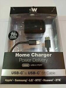 Just Wireless 18W USB-C Power Adapter for iPad Pro 2020,Pixel 5/4/3, Galaxy S20