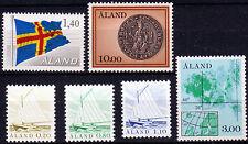Aland 1-6 **, libero Marchi-navi, bandiera