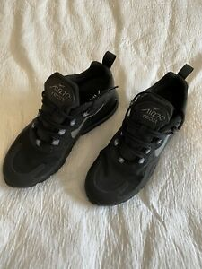 Nike Air 270 React Size 5.5 Black Worn Once