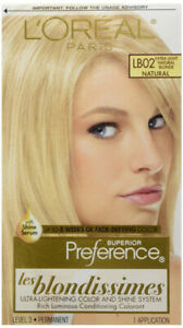 L'OREAL - Superior Preference Les Blondissimes LB02 Extra-Light Natural Blonde