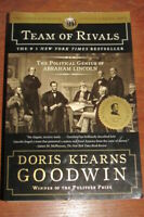 Doris Kearns Goodwin Team of Rivals The Political Genius of Abraham Lincoln ppbk