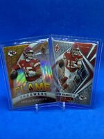 2020 Panini Phoenix Flame Thrower And Base Patrick Mahomes (2) Card Lot
