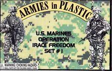 Armies in Plastic US Marines Set #1 Operation Iraqi Freedom 1/32 Scale 54mm