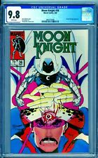CGC 9.8 MOON KNIGHT #36 WHITE PAGES 1ST SERIES 1984 DOCTOR STRANGE APPEARS