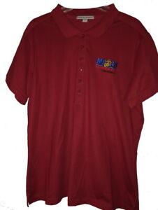 "USMC ""MCCS SEMPER FIT"" Women's Port Authority 6 Button Golf Shirt XL CALIF FI"