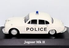 Jaguar MkII Bedfordshire Police 1:43 Scale Die-cast Metal Model Toy Car Atlas