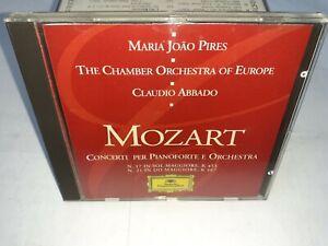 MOZART CONCERTI PIANOFORTE ORCHESTRA - ABBADO - GRAMMOPHON REPUBBLICA - 1996