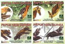 Papua New Guinea 2009 - Bats Set of 4 Stamps MNH