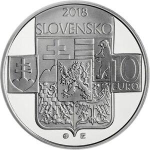#RM# 10 EURO COMMEMORATIVE SLOVAQUIE 2018 - 100 Years Czechoslovakia