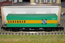FLEISCHMANN N carro trasporto container della SCHENKER  ART. 8245